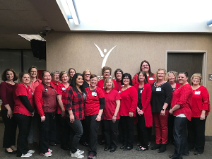 Yankton Medical Clinic, P.C. physicians and employees Wear Red for Women on February 1.