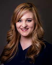 Registered nurse, Stephanie Backer.